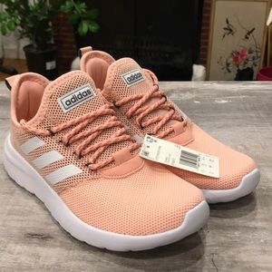 NWT Adidas Cloudfoam Comfort Sneakers peach color